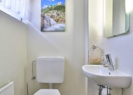 Ferienwohnung Akelei Gäste-WC
