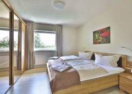 Ferienwohnung Akelei Schlafzimmer