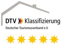 5 Sterne vom Deutschen Tourismusverband e.V .