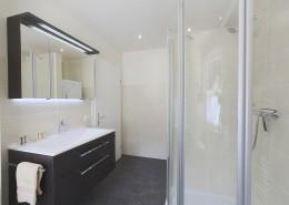 Ferienwohnung Arnika Badezimmer